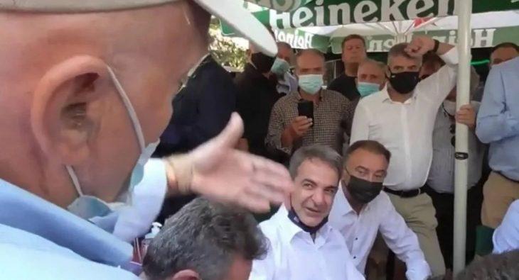 Κυριάκος Μητσοτάκης: Συνταξιούχος στην Λάρισα τον αποστομώνει