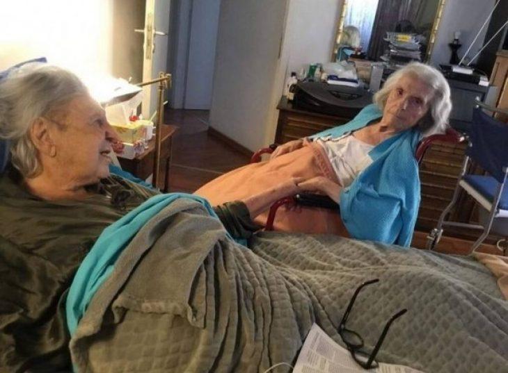 Μίκης Θεοδωράκης: Η τελευταία συγκινητική φωτογραφία με το χαμόγελο στη γυναίκα του