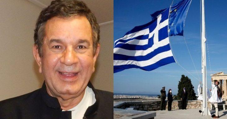 """Σταμάτης Σπανουδάκης: """"Πώς βρε παιδιά μου θα βγάλετε απο το αίμα μας, την Ελλάδα, τούς ήρωες, τους Αγίους, τον Χριστό; Ποιοί είστε;"""""""