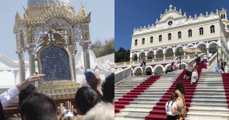 Παναγία της Τήνου: Εμφανίστηκε η Παναγία και γιάτρεψε ψυχασθενή