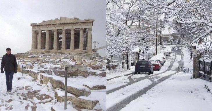 """""""Χιόνια και βαρύς χειμώνας στην Αθήνα"""": Τα μερομήνια μίλησαν και αποκαλύπτουν τα πάντα"""