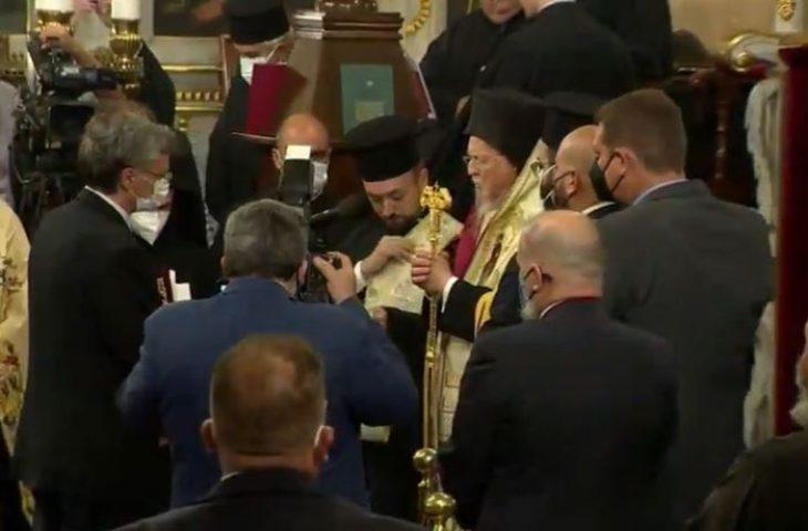 Σωτήρης Τσιόδρας: Χειροθετήθηκε Άρχων Οφφικιάλιος από τον Οικουμενικό Πατριάρχη Βαρθολομαίο