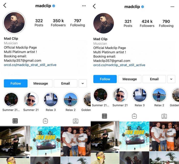 Mad Clip: Εκτινάχθηκαν οι followers του στο instagram