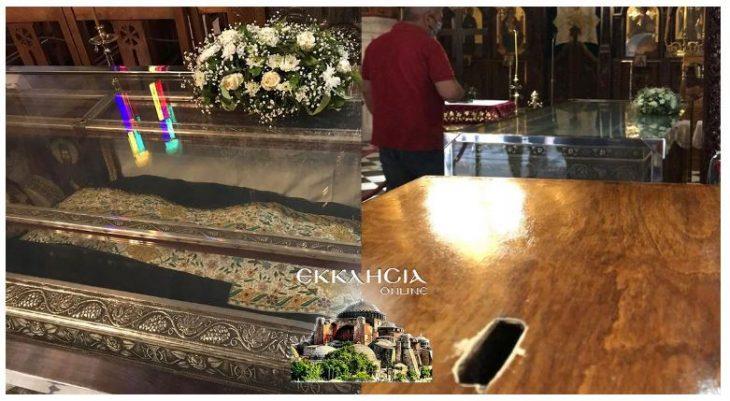 Μέγα Σημείο στη Νέα Μάκρη χθες 17/9: Ο Άγιος Εφραίμ έσωσε γιο Ιερέα από νεφρική βλάβη