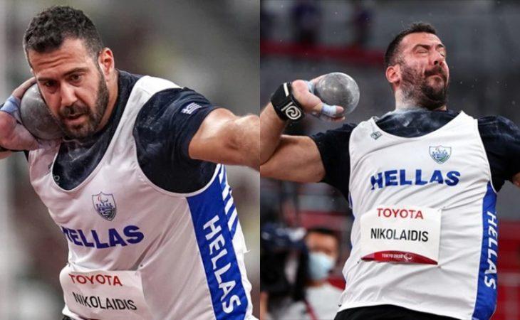 Ευστράτιος Νικολαϊδης: «Χάλκινος» ο Ολυμπιονίκης σφαιροβολία F20