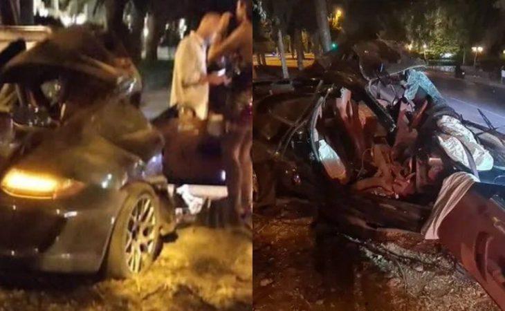 Mad Clip: Εικόνες σοκ από το τροχαίο δυστύχημα