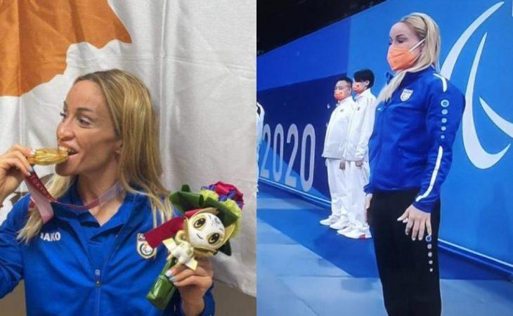 Καρολίνα Πελενδρίτου: «Χρυσή» και με παγκόσμιο ρεκόρ η Παραολυμπιονίκης στο Τόκιο