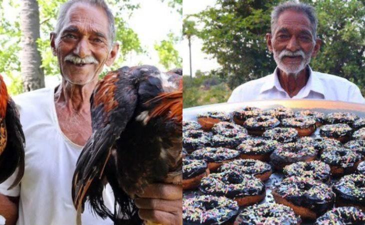 Αληθινή ιστορία: Μάγειρας από την Ινδία αφιέρωσε τη ζωή του για να μαγειρεύει σε ορφανά