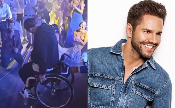 Γιώργος Τσαλίκης: Συγκινεί μιλώντας για άνδρα σε αμαξίδιο που χόρευε ζεϊμπέκικο