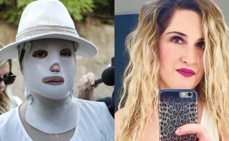 Ιωάννα Παλιοσπύρου: Τι είναι η ειδική μάσκα που φοράει στο πρόσωπό της