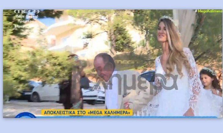 """Ηλίας Μαμαλάκης: Η υπέροχος γάμος της κόρης του Ευγενίας, η χαρά του και η """"απειλή"""" στο γαμπρό"""
