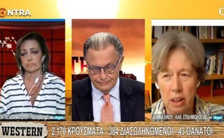 Αθηνά Λίνου: «Να επεκταθεί η μάσκα και στην ώρα της γυμναστικής»