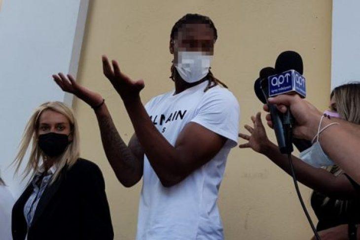 Ρούμπεν Σεμέδο: Ελεύθερος μετά την απολογία του στην ανακρίτρια